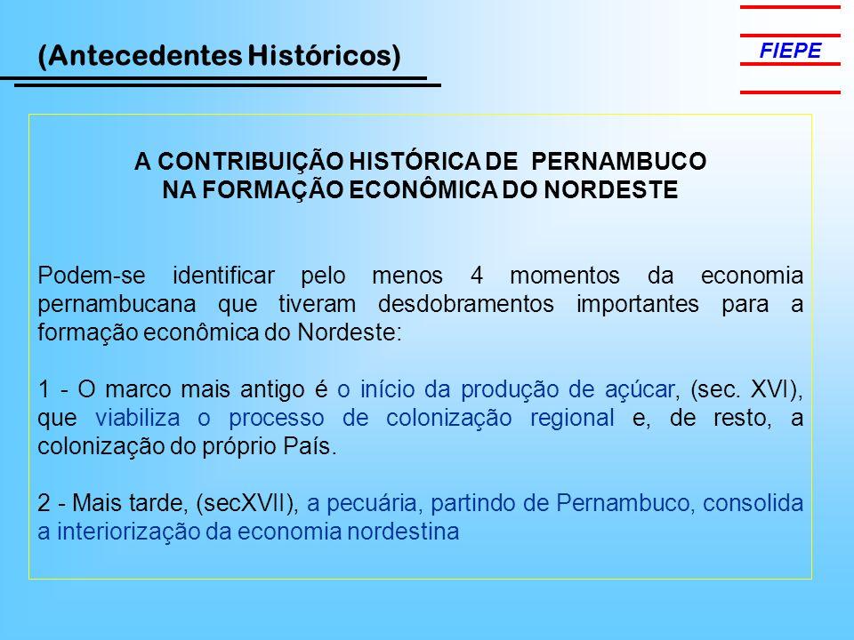 A CONTRIBUIÇÃO HISTÓRICA DE PERNAMBUCO
