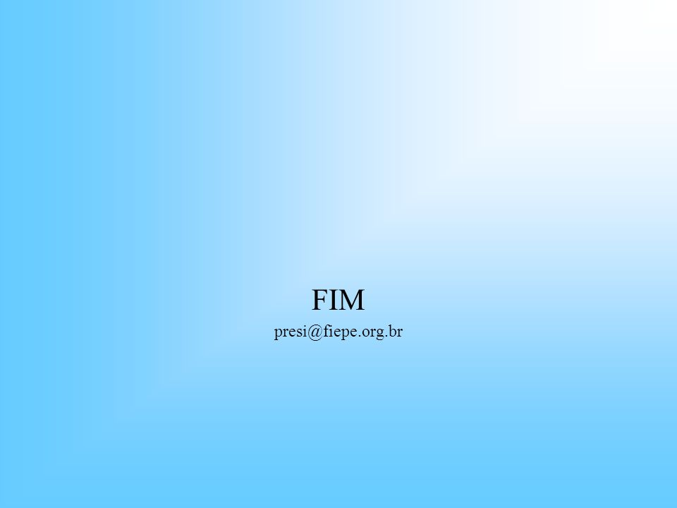 FIM presi@fiepe.org.br