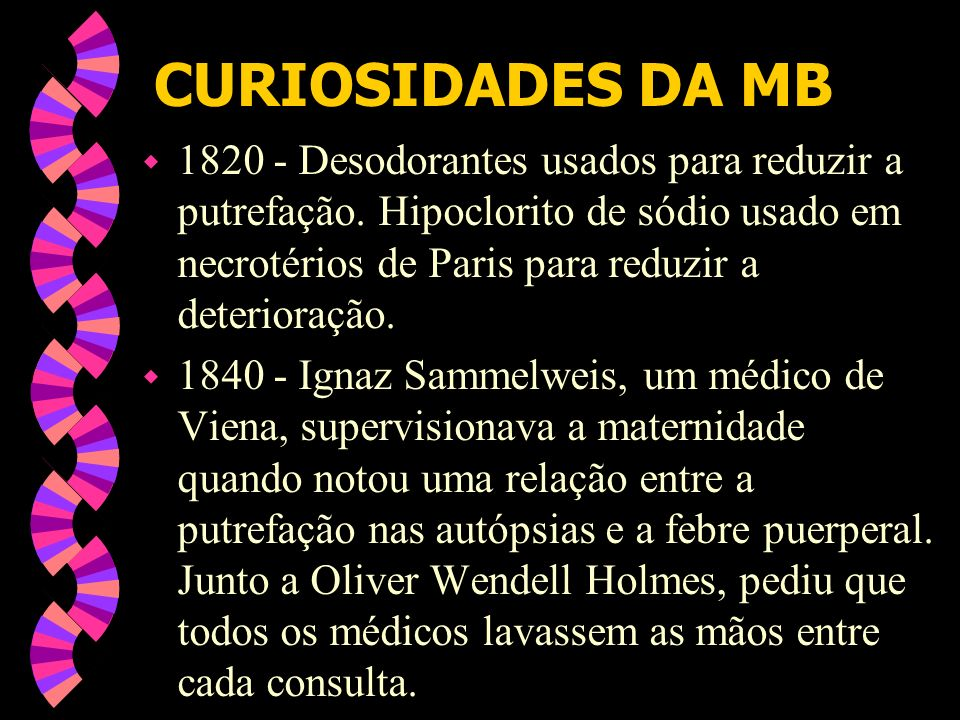CURIOSIDADES DA MB