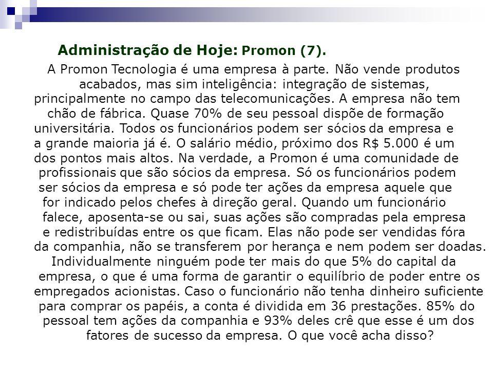 Administração de Hoje: Promon (7).