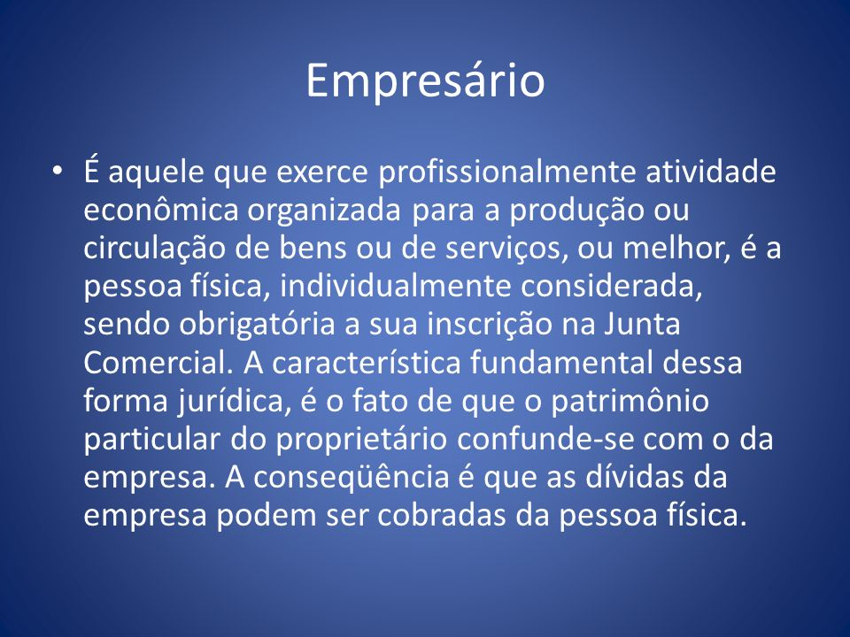 Empresário