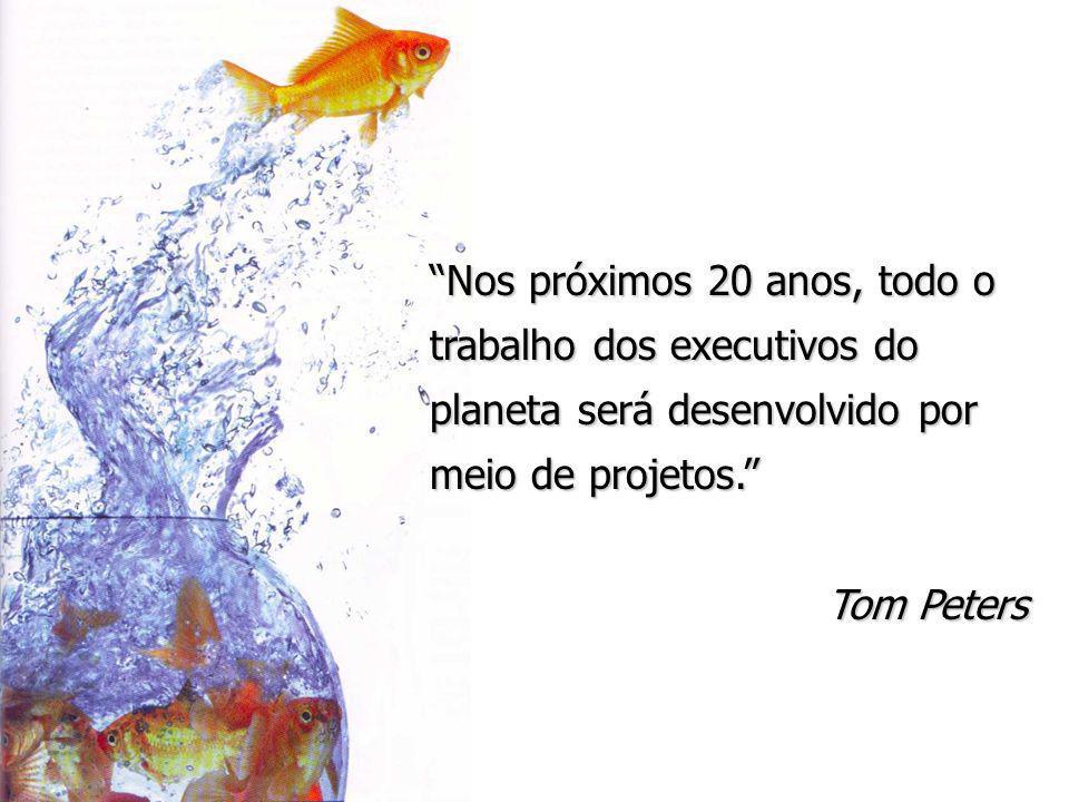 Nos próximos 20 anos, todo o trabalho dos executivos do planeta será desenvolvido por meio de projetos.