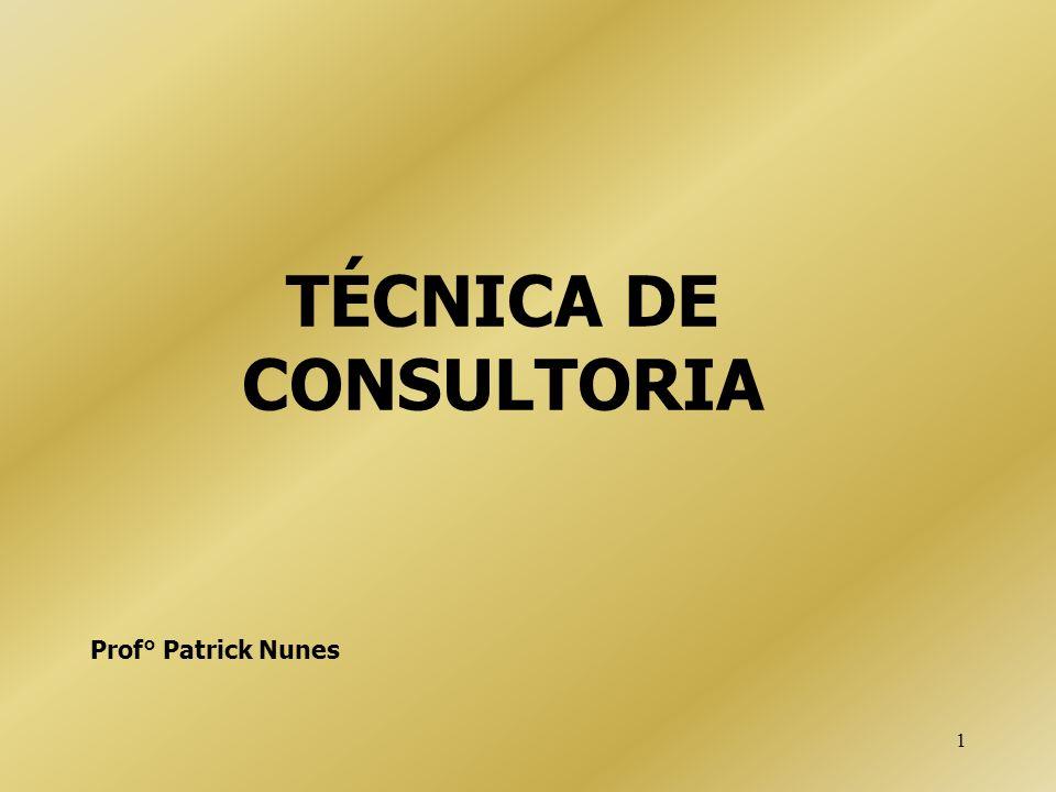TÉCNICA DE CONSULTORIA
