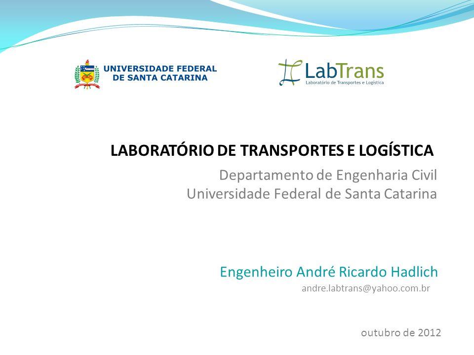 LABORATÓRIO DE TRANSPORTES E LOGÍSTICA