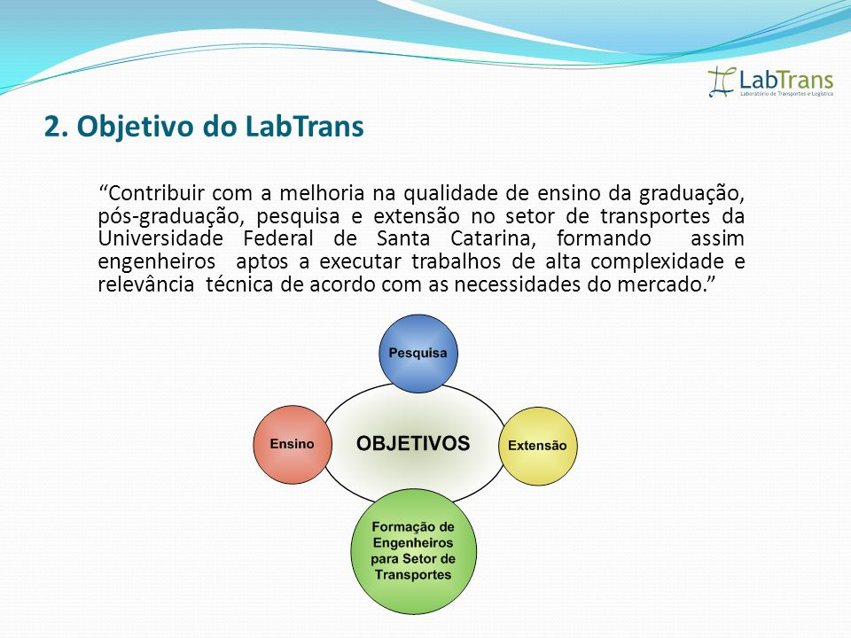 2. Objetivo do LabTrans