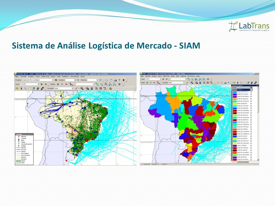 Sistema de Análise Logística de Mercado - SIAM