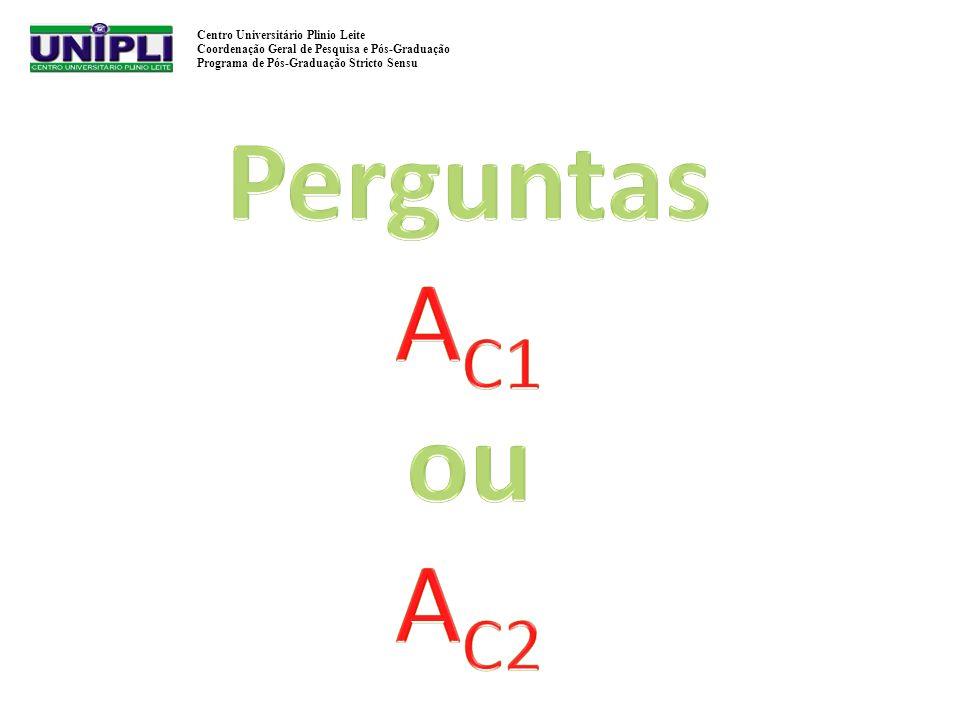 Perguntas AC1 ou AC2
