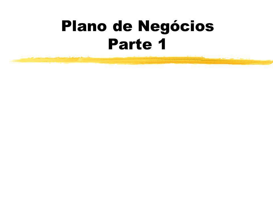 Plano de Negócios Parte 1