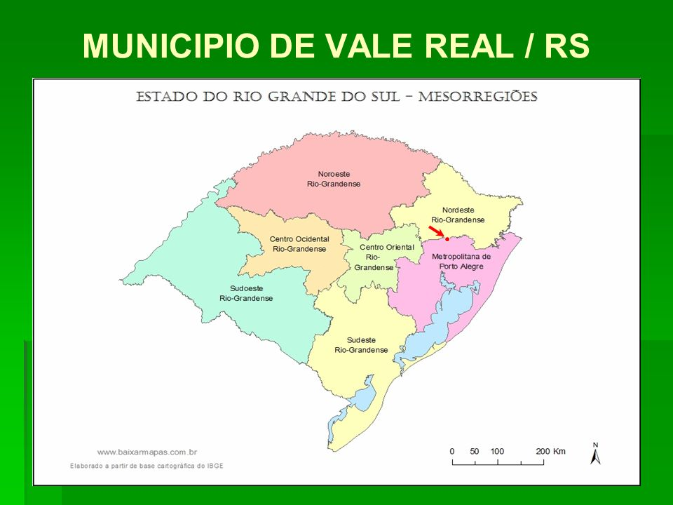 MUNICIPIO DE VALE REAL / RS