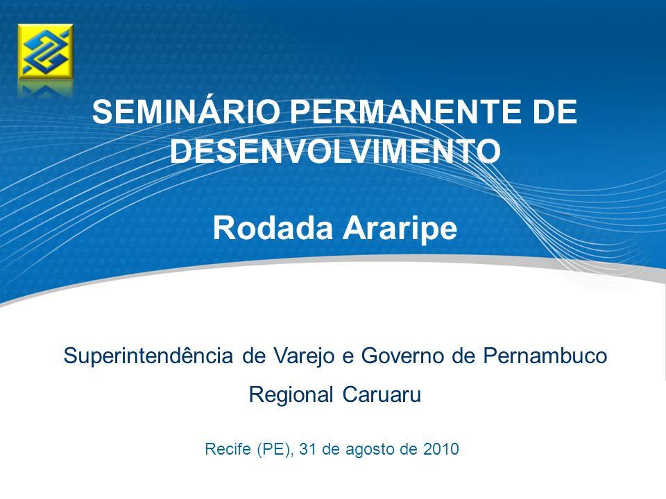 SEMINÁRIO PERMANENTE DE DESENVOLVIMENTO