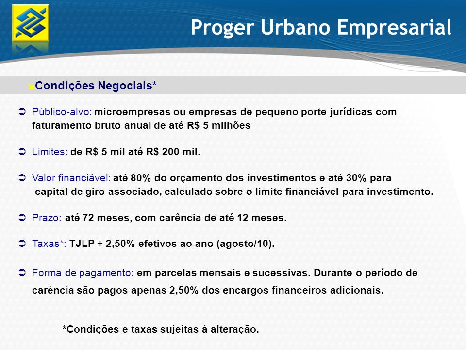 Proger Urbano Empresarial
