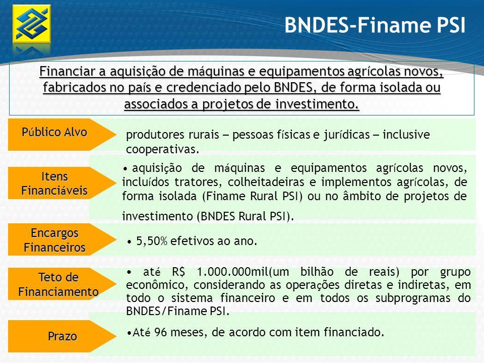 BNDES-Finame PSI