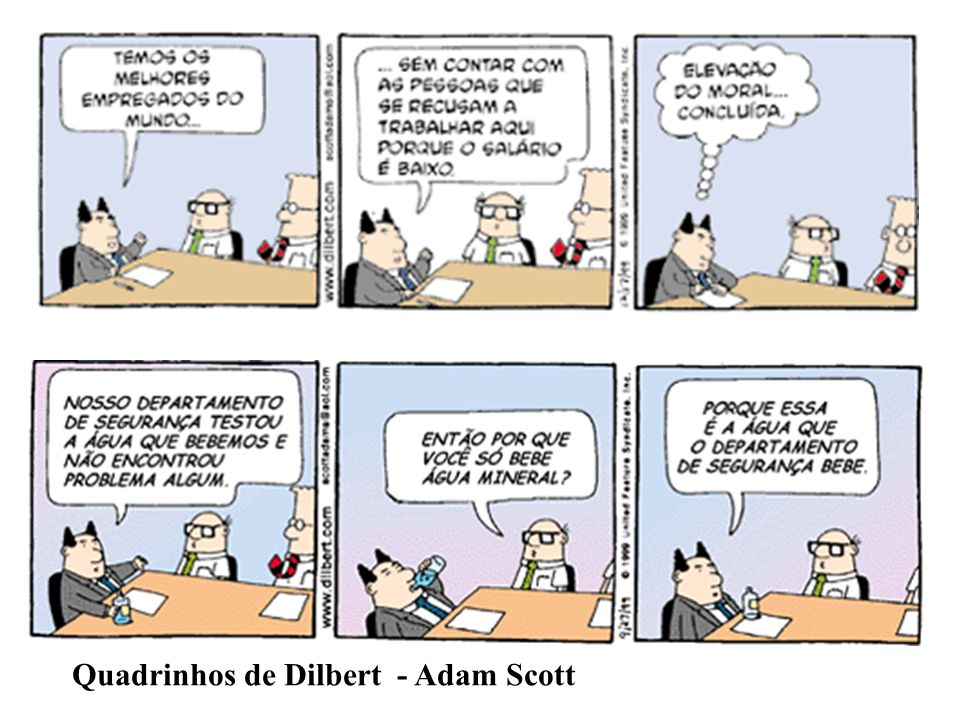 Quadrinhos de Dilbert - Adam Scott