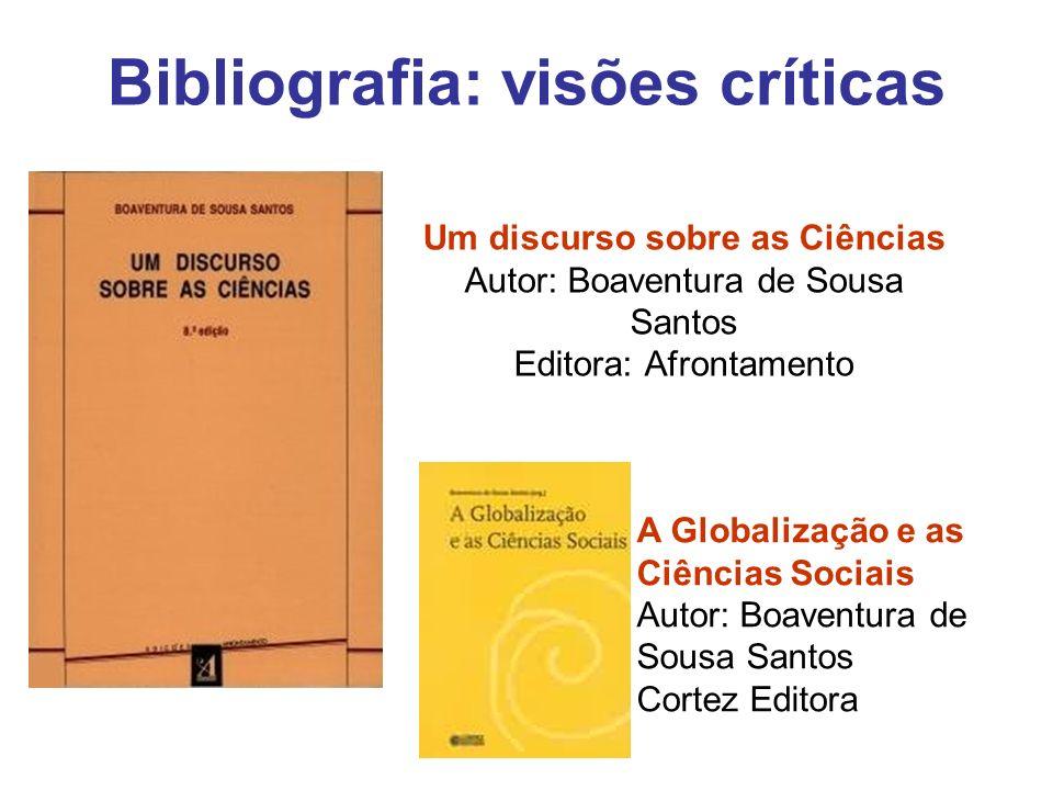 Bibliografia: visões críticas