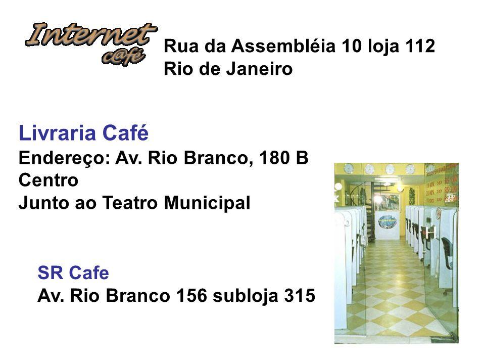 Livraria Café Rua da Assembléia 10 loja 112 Rio de Janeiro