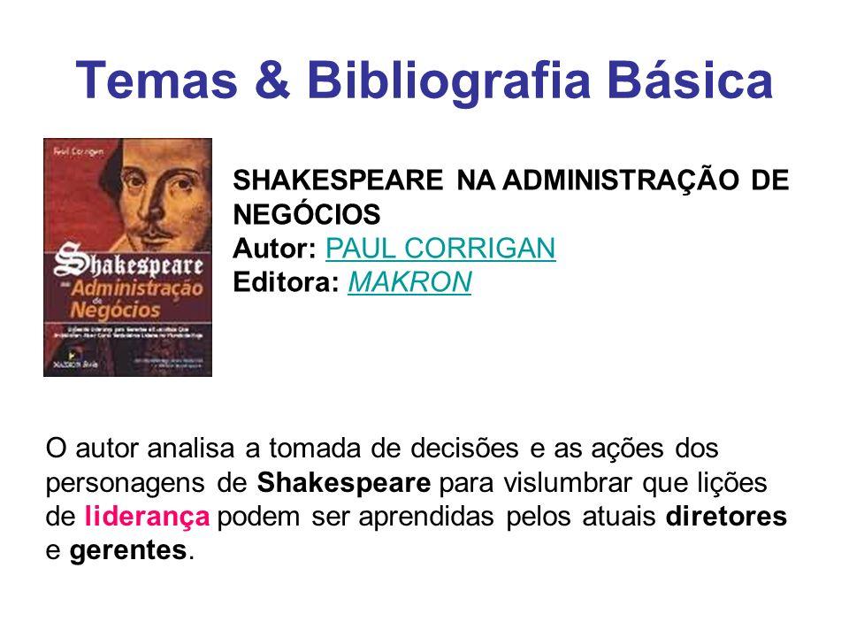 Temas & Bibliografia Básica
