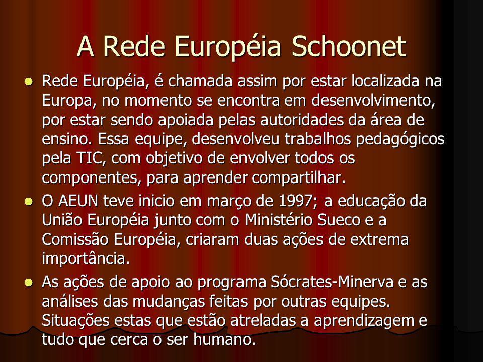 A Rede Européia Schoonet