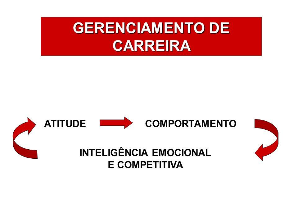 GERENCIAMENTO DE CARREIRA INTELIGÊNCIA EMOCIONAL E COMPETITIVA