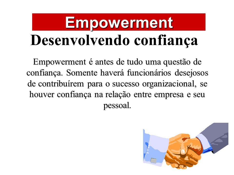Desenvolvendo confiança