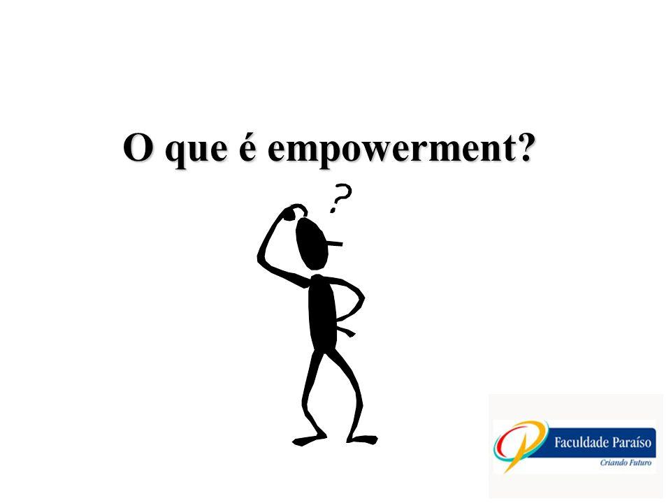 O que é empowerment