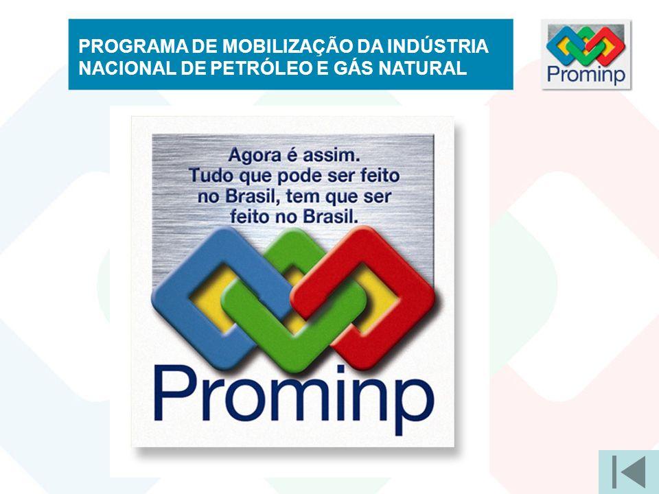 PROGRAMA DE MOBILIZAÇÃO DA INDÚSTRIA NACIONAL DE PETRÓLEO E GÁS NATURAL