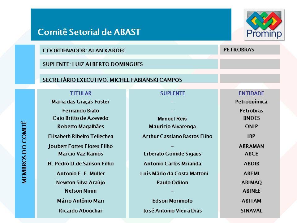 Comitê Setorial de ABAST