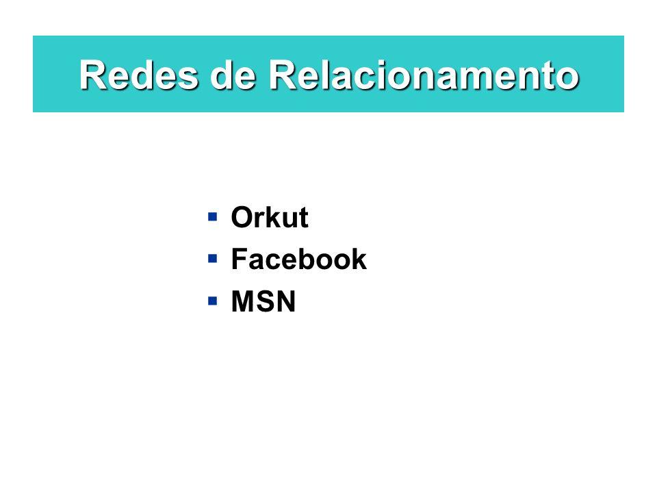 Redes de Relacionamento