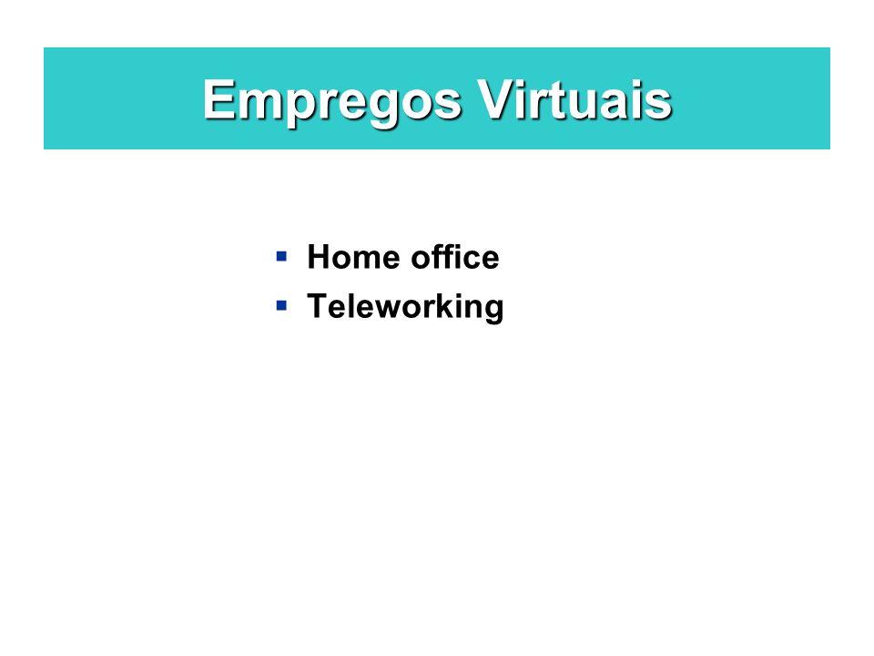 Empregos Virtuais Home office Teleworking