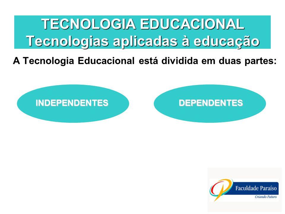 TECNOLOGIA EDUCACIONAL Tecnologias aplicadas à educação