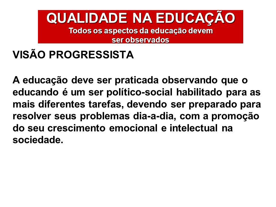 Os problemas na educação