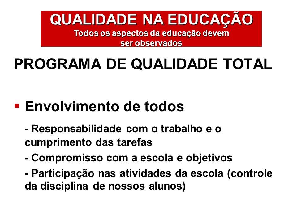 PROGRAMA DE QUALIDADE TOTAL
