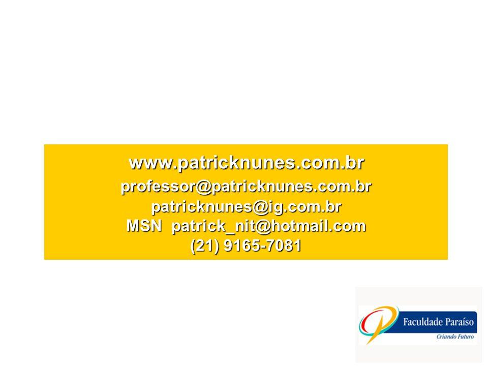 www. patricknunes. com. br professor@patricknunes. com
