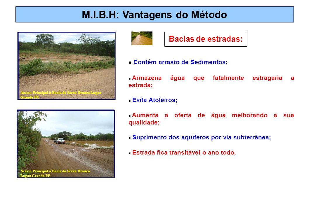 M.I.B.H: Vantagens do Método