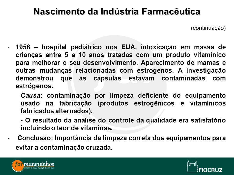 Nascimento da Indústria Farmacêutica