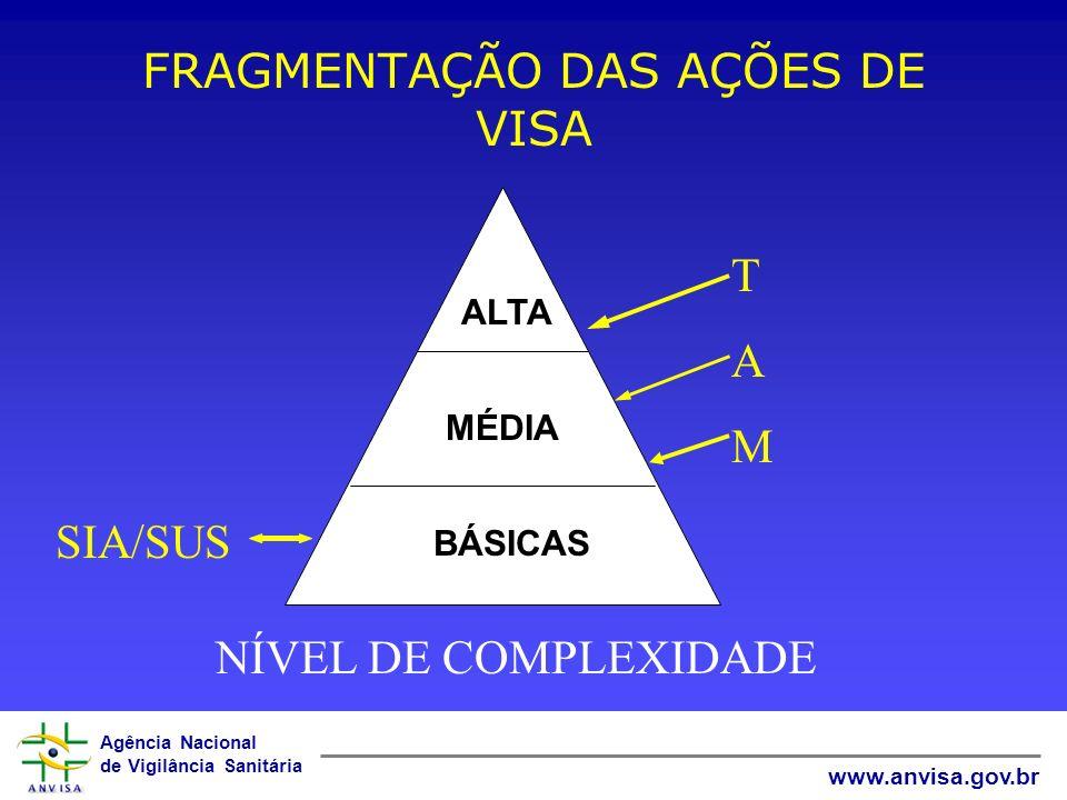 FRAGMENTAÇÃO DAS AÇÕES DE VISA