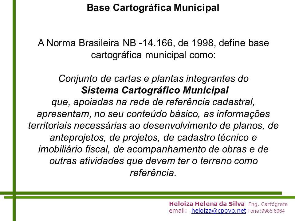 Base Cartográfica Municipal