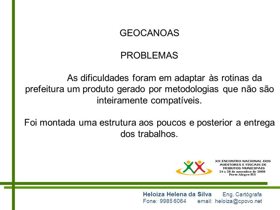 GEOCANOAS PROBLEMAS.