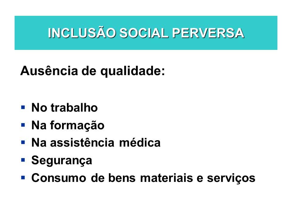 INCLUSÃO SOCIAL PERVERSA