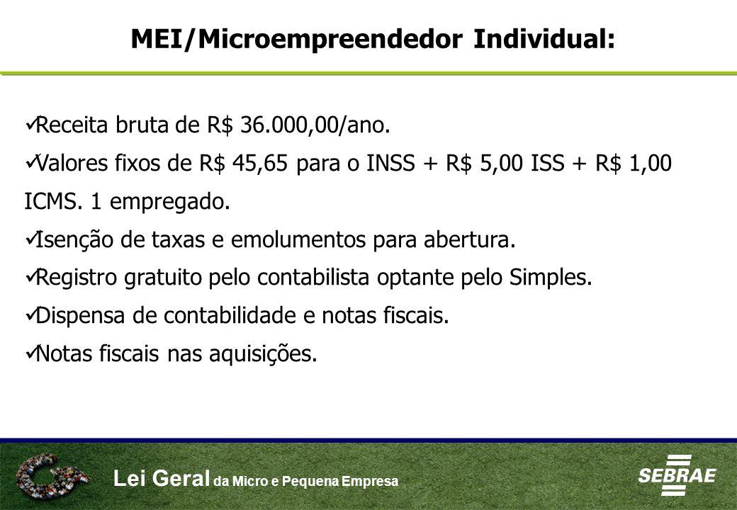MEI/Microempreendedor Individual: