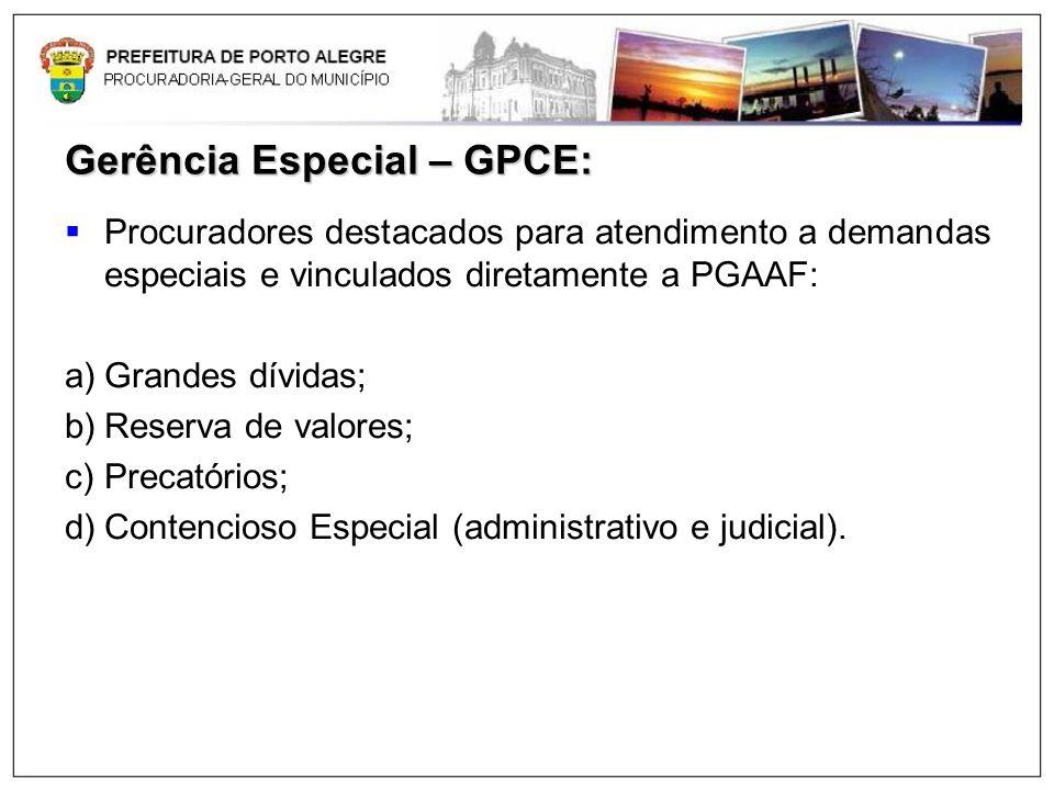 Gerência Especial – GPCE: