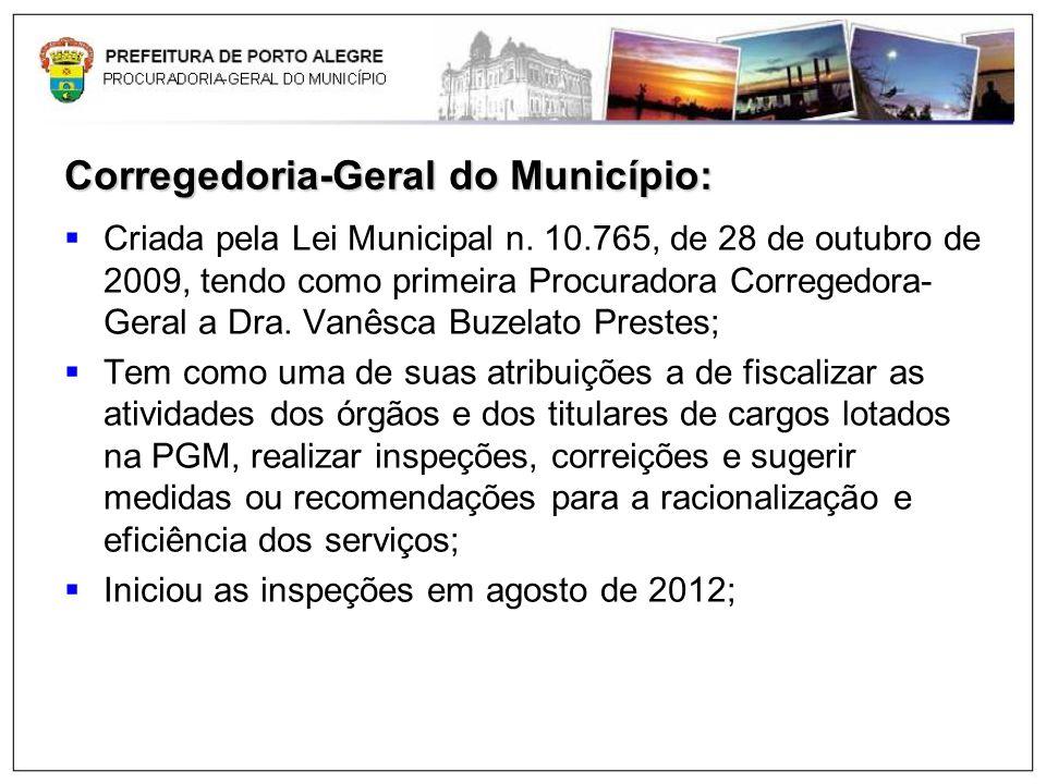 Corregedoria-Geral do Município: