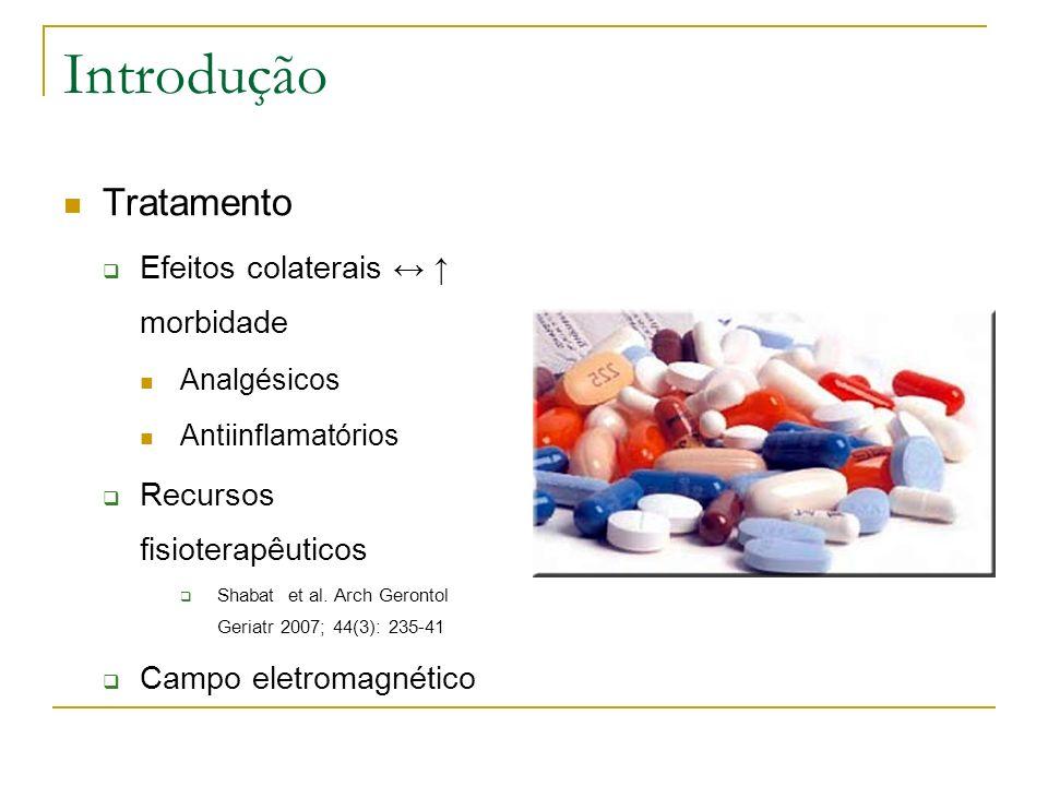 Introdução Tratamento Efeitos colaterais ↔ ↑ morbidade