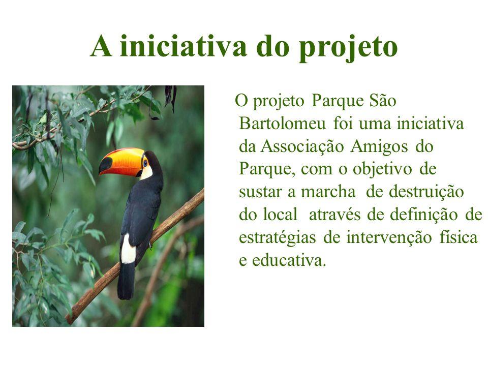 A iniciativa do projeto