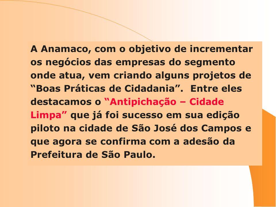 A Anamaco, com o objetivo de incrementar