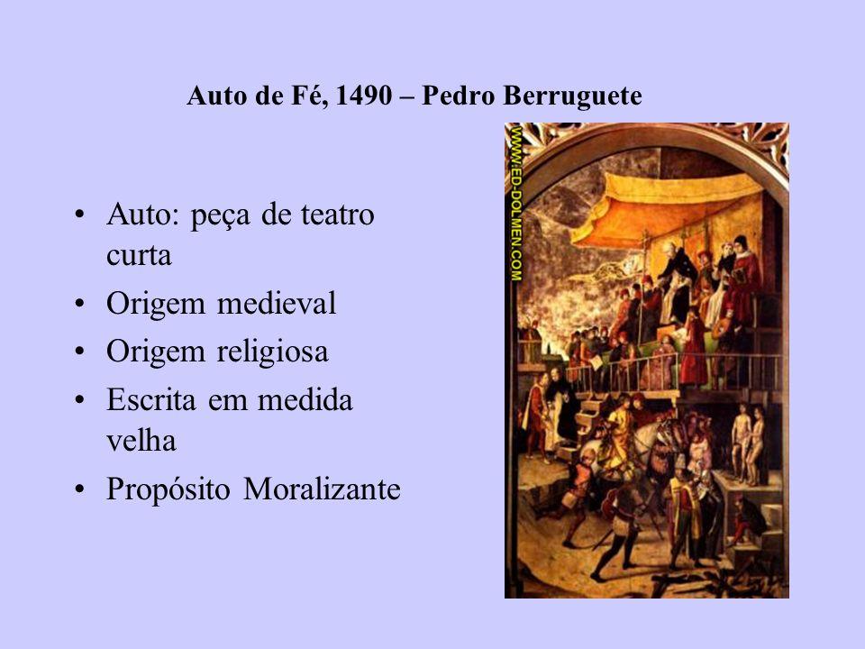 Auto de Fé, 1490 – Pedro Berruguete