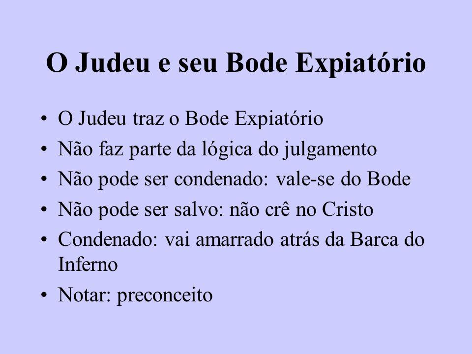 O Judeu e seu Bode Expiatório