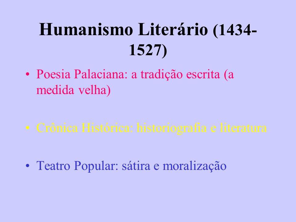 Humanismo Literário (1434-1527)