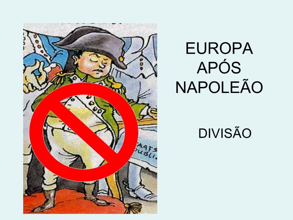 EUROPA APÓS NAPOLEÃO DIVISÃO