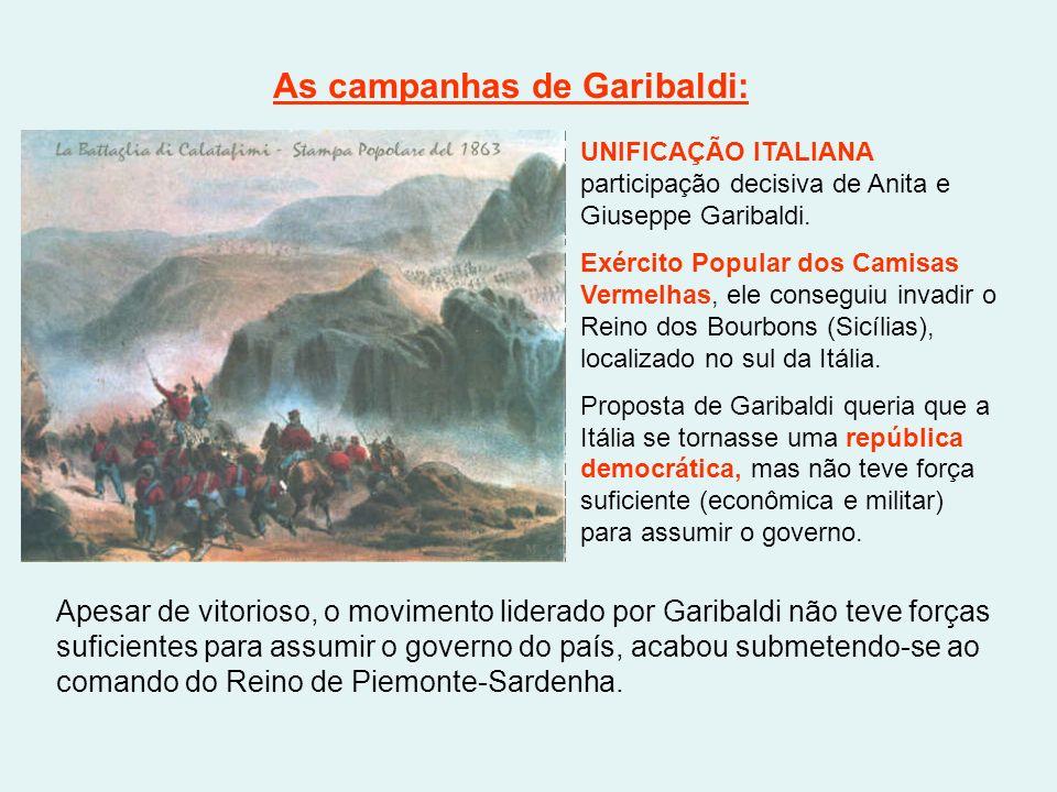 As campanhas de Garibaldi: