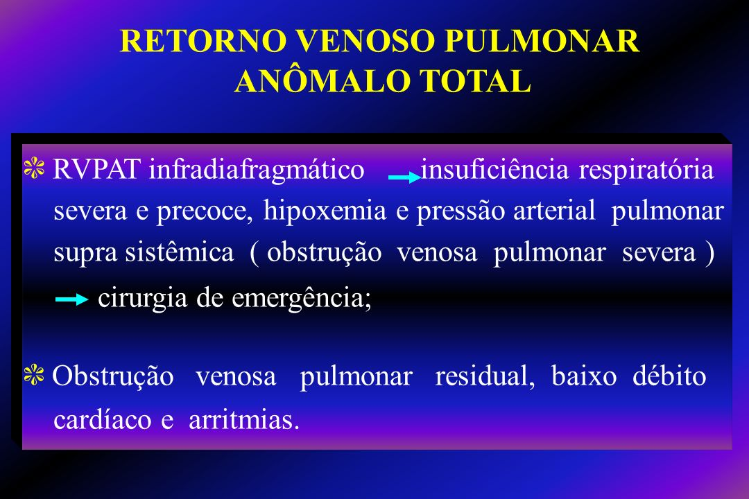 RETORNO VENOSO PULMONAR